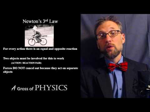 Day 039   Newtons 3rd Law