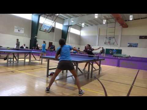 Shelly Leparulo of FSU Vs Sherlyn Barvie Perez of Clearwater , Game 5 Lakeland, 6/18/16