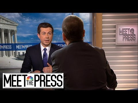 Full Buttigieg: 'Our Lives Depend' On U.S. Credibility | Meet The Press | NBC News