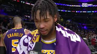 Brandon Ingram talk about Lakers 1-0 with Tyson Chandler!