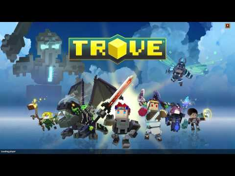 Ripoff of Minecraft?! (either way, still good)| Trove #1