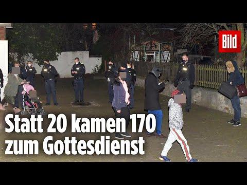 Berlin: Polizei räumt Gottesdienst mit mehr als 170 Personen