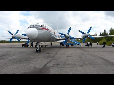 Air Koryo IL-18 takeoff approach landing @ YJS Samjiyon FNJ Pyongyang Airport