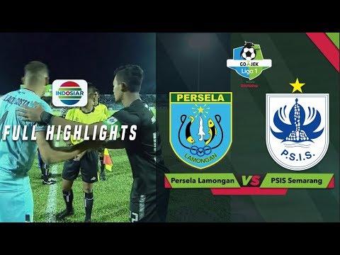 PERSELA LAMONGAN (1) vs PSIS SEMARANG (1) - Full Highlight - GoJek Liga 1 bersama Bukalapak