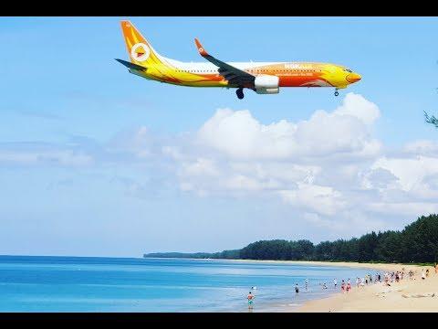 Тайланд Пхукет 2019 - Пляж с Самолетами, Май Као.