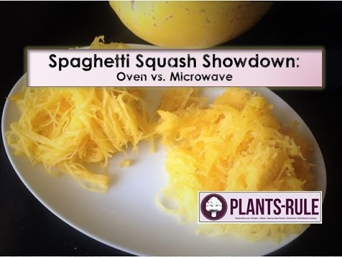 Spaghetti Squash Showdown: Microwave Cooking vs Oven Roasting from Plants-Rule