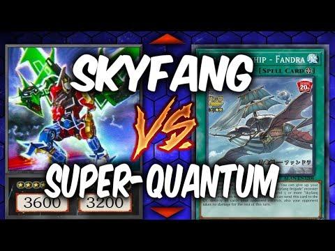 SKYFANG BRIGADE vs SUPER-QUANTUM BEASTS  (Yu-gi-Oh Competitive Deck Duel)