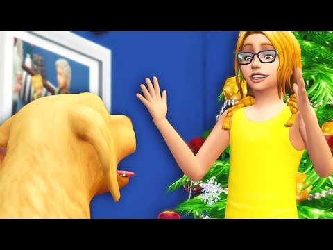 CHRISTMAS PUPPY // The Sims 4: Not So Berry ~ Rose #14