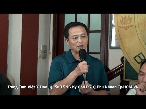 Dienchan.com - HV K132 Vũ Huy Đang chia sẽ kinh nghiệm tự chữa bệnh cho mình