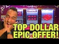 💰Double Top Dollar JACKPOT HANDPAY!! | $10 Bets On Stinkin' Rich! 👑 🎰 💵