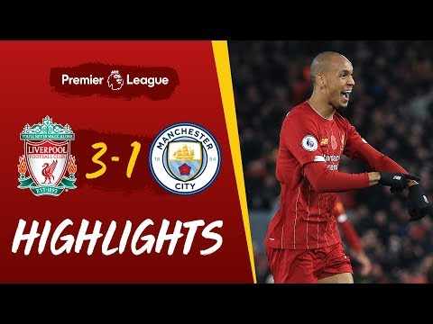 Liverpool 3-1 Man City | Fabinho's stunner helps Reds beat C