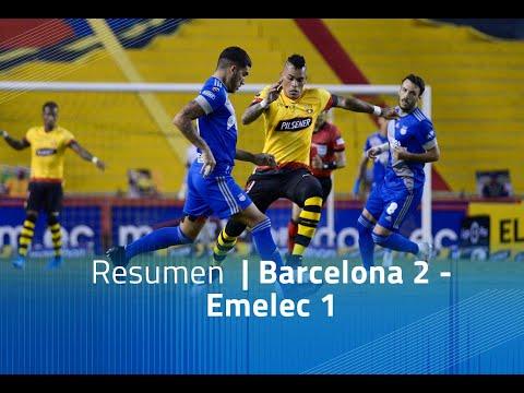 Resumen - Barcelona  2 - Emelec 1
