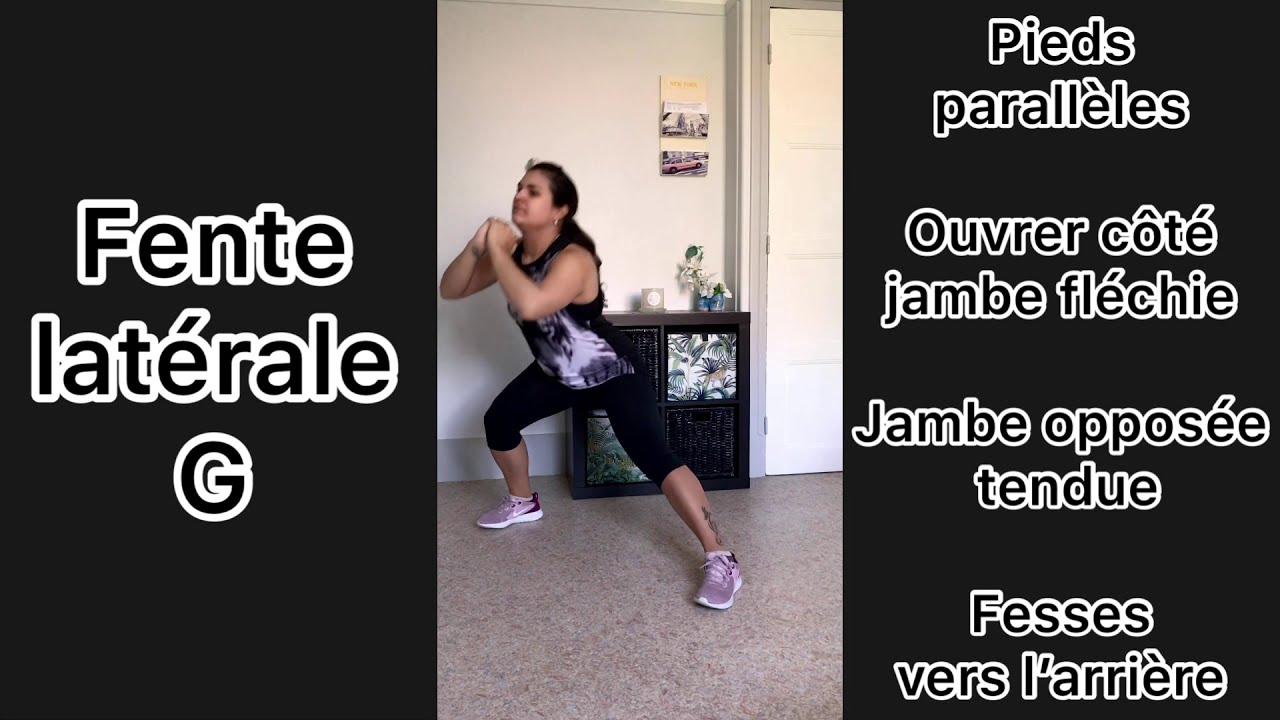 Renforcement musculaire   Spécial Fessiers   Debout - YouTube