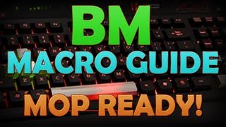 zumio in depth bm pvp macro guide mop version