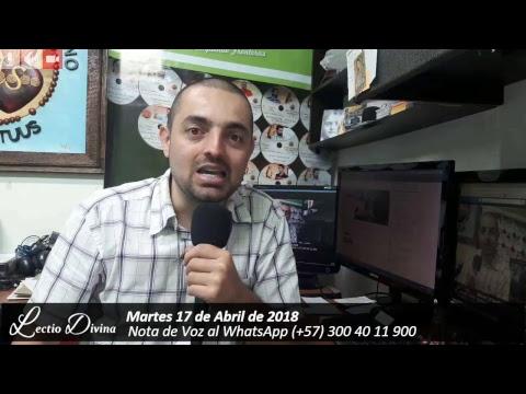 "LECTIO DIVINA | EN VIVO | 17/04/2018 ""Evangelio de San Juan 6, 30-35"""