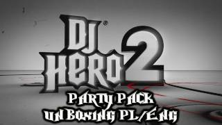 DJ Hero 2 Party Bundle Xbox 360 - Unboxing PL/ENG