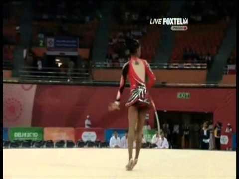 Pooja Surve 2010 Commonwealth Games Hoop Team Final