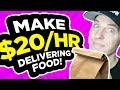 How to Make $20 Per Hour Delivering Food