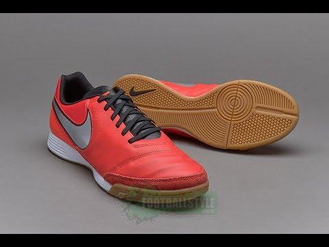 3b79086ae6eda Обзор бампы Nike Tiempo Genio II Leather IC - 819215 608 (unboxing ...