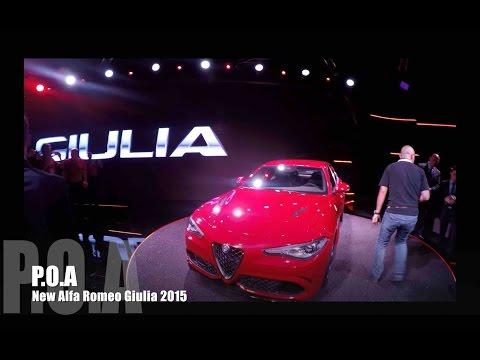 New Alfa Romeo Giulia 2015