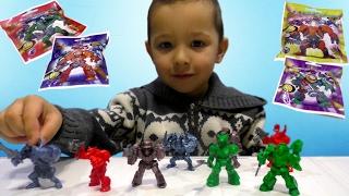 Звероботы - Роботы Звери - ЗвероРоботы - РобоЗвери - Игрушки из Фикс Прайс Технолог Видео для детей