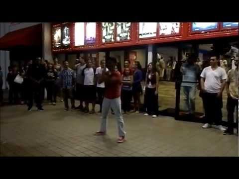 Flash Mob Caribbean Cinemas Fajardo P.R.