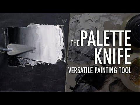 Palette Knife—Versatile Painting Tool