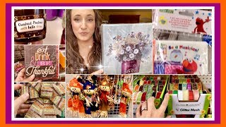 Dollar Tree FALL Shop with Me & HAUL