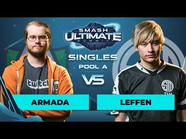 Armada vs Leffen - Singles Pool A: Round 2 - Smash Ultimate Summit