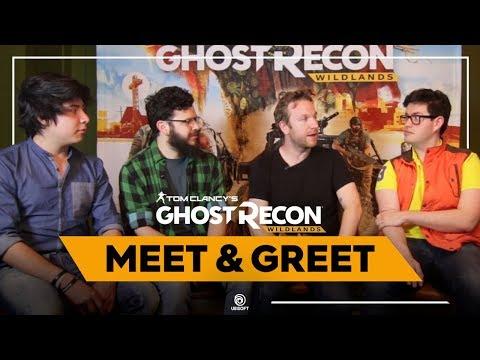¡Fans conviven y juegan Ghost Recon Wildlands con uno de sus creadores!