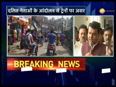 Mumbai protest update: People protest at railway stations, local trains affected