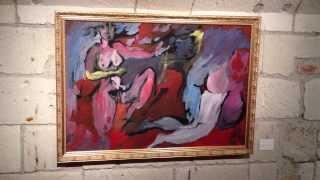 3.Exposition Gilles Cormery - Chateau de Tours Salle 1. 018.MOV