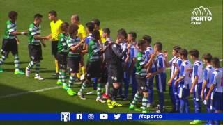 Formação: Sub-15 - FC Porto-Sporting, 0-2 (CN Juniores C, fase final, 2.ª j., 09/04/17)
