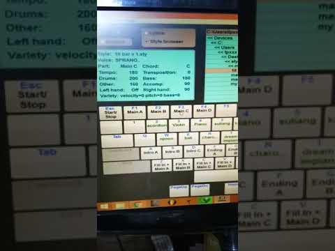 style manual voice funky kota (funkot) omb dan yamaha keybord