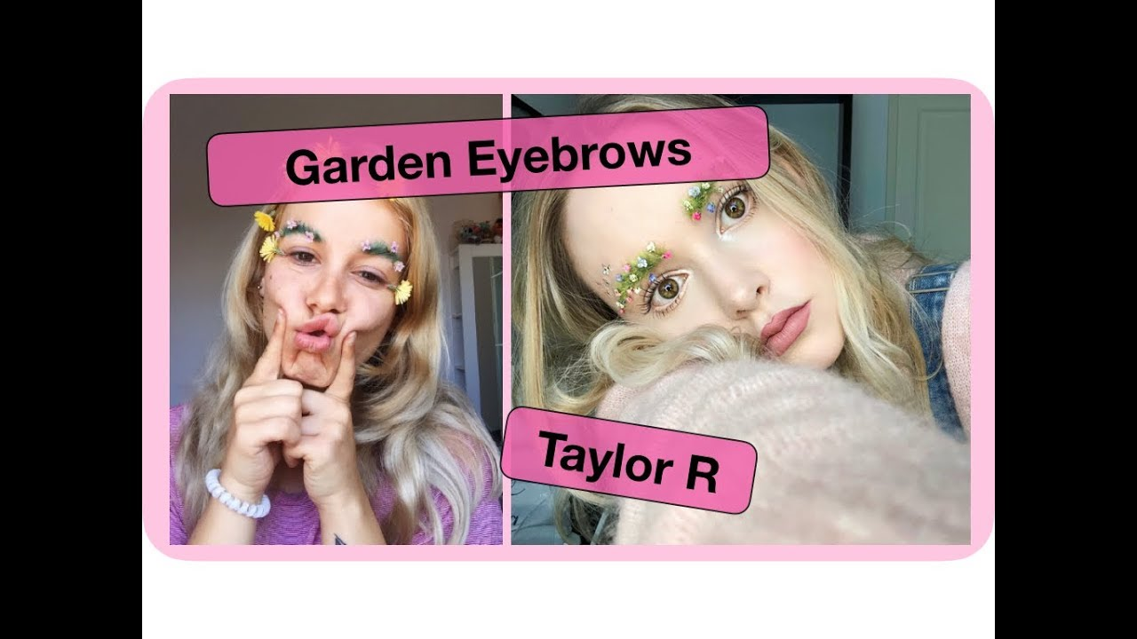 Garden Eyebrows By Taylor R // Gianna Olivier