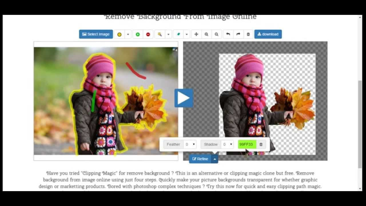 how to remove background from image on android or pc laptop