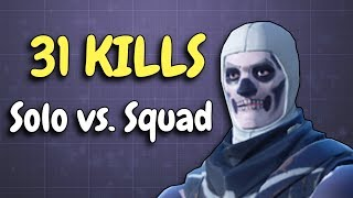 31 KILLS SOLO VS SQUAD | Insane game!