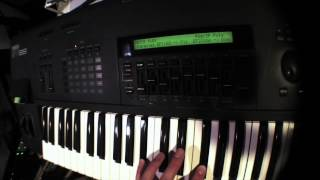 Yamaha SY85 Synthesizer Preset Demo - Internal Voice Bank 1 (A1-A8)