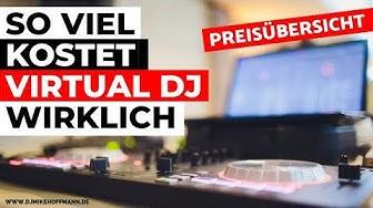 Virtual DJ Tutorial Deutsch | #13 Was kostet Virtual DJ? Preis DJ Software Preisvergleich