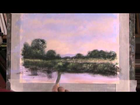 Chichester Canal  Acrylic  Part 2