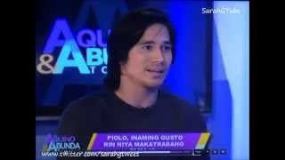 Sarah Geronimo - Piolo Pascual on Sarah G - Abunda and Aquino tonight (July 24, 2014)