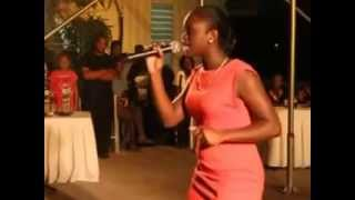 Miss Clarendon Shanice Jackson doing her talent piece at Denbigh 2014 Thumbnail
