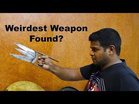 Ancient Scissor Knife (Katar) - Weird Weapons of India