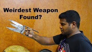 ancient-scissor-knife-katar-weird-weapons-of-india