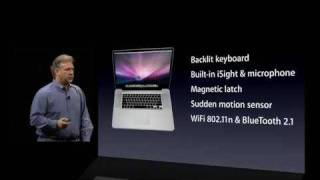 "Apple Macworld 2009 Keynote - Introduction of the 17"" Unibody MacBook Pro (part 1)"