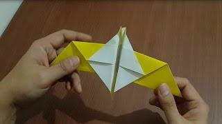 cara membuat origami burung dengan mudah dan cepat