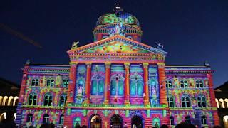 Rendez-vous Bundesplatz 2014: Das neue Ton- & Lichtspektakel auf dem Bundesplatz in Bern
