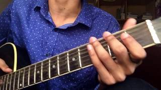 Arnob - Naam chilo na (guitar tutorial)