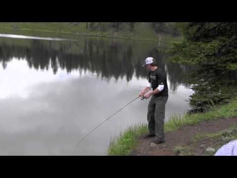 A Quicky Side Trip to Trout Lake for a Little Fishing - Yellowstone