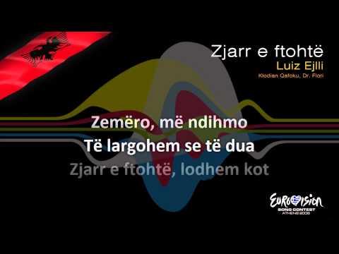 """Luiz Ejlli - """"Zjarr E Ftohtë"""" (Albania) - [Karaoke version]"""
